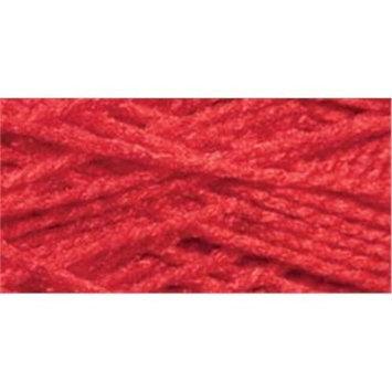 Cottage Mills 494137 Needloft Craft Yarn 20 Yard CardRed