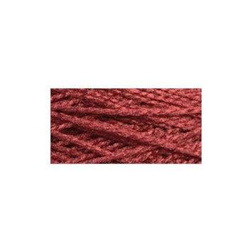 Cottage Mills 494139 Needloft Craft Yarn 20 Yard CardBurgundy