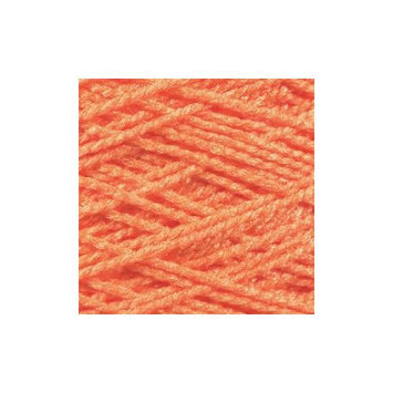 Cottage Mills 494191 Needloft Craft Yarn 20 Yard Card-Bright Orange