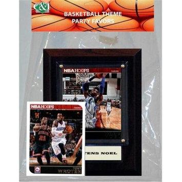 Candicollectables Candlcollectables 46LB76ERS NBA Philadelphia76ers Party Favor With 4 x 6 Plaque