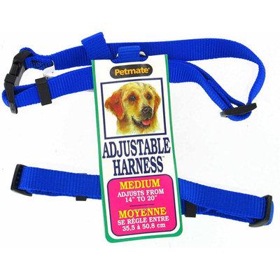 Petmate 17208 14 to 20 Adjustable Dog Harness, Royal Blue