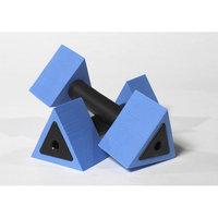 AquaJogger Active-Bells Minimum Resistance Dumbbells, Blue