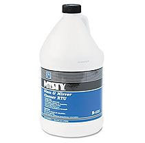 Misty Glass & Mirror Cleaner w/Ammonia, 1 gal Bottle, 4/Carton