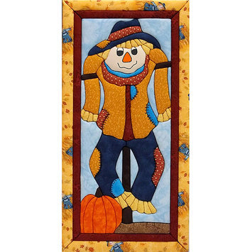 Scarecrow Quilt Magic Kit-9.5X19
