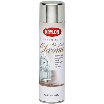 Krylon 1010 Metallic Spray Paint 8 Ounces-Original Chrome