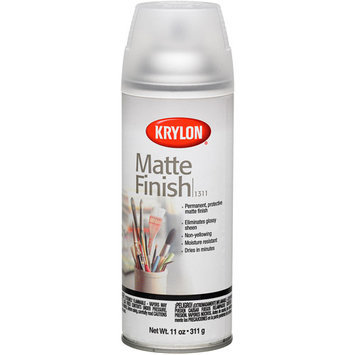 Krylon 1311 Matte Finish, Clear (6 Pack)