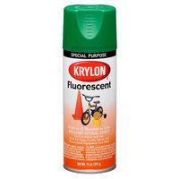 Krylon 310-6 Fluorescent Aerosol Paint 11 Ounces-Green