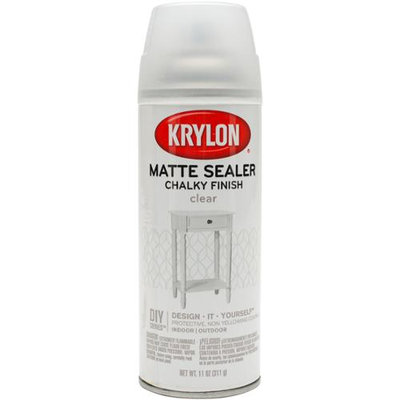Chalky Finish Aerosol Spray Paint 12Oz-Clear Matte