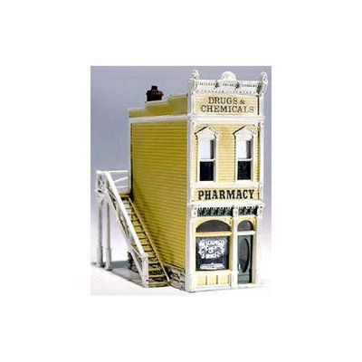 Design Preservation Models D221 Pharmacy Kit HO Multi-Colored
