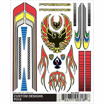 Pinepro Pine Car Derby Dry Transfer Decal 4