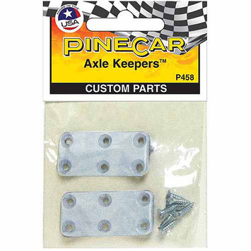 Pinepro Pine Car Derby Custom Parts-Axle Keepers