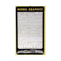 Design Preservation Models MG703 Roman R.R. Letters Gold 1/16-5/16 WOOU0703