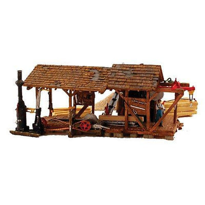 Design Preservation Models HO Built-Up Buzz's Sawmill Multi-Colored