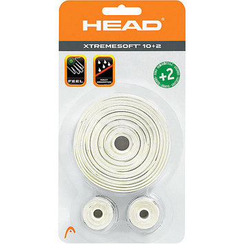 Head XtremeSoft 10 Pack Overgrips White