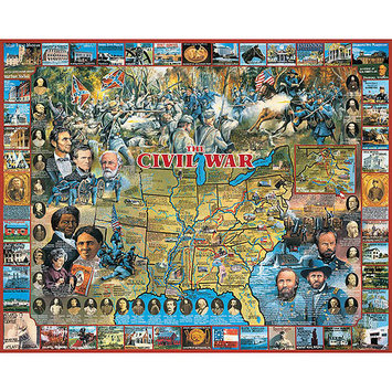 White Mountain Puzzles Civil War (1000 pc)
