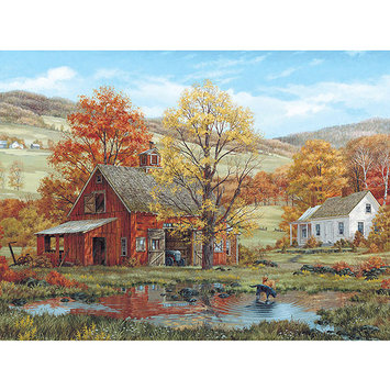Taylor Gifts Friends In Autumn By Fred Swan 1000 Pc Puzzle