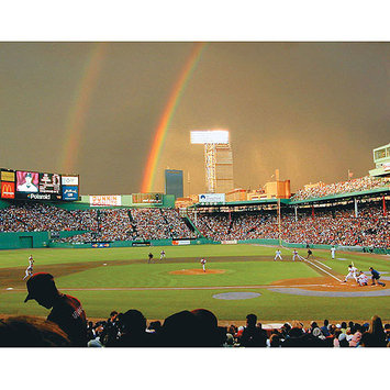 Taylor Gifts Rainbows Over Fenway Park 550 Pc Puzzle