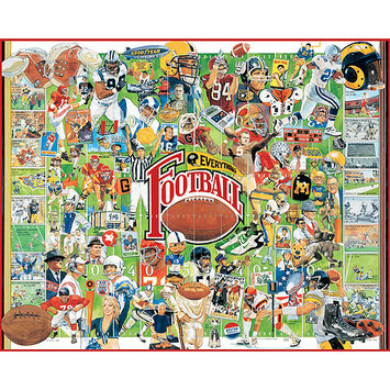 White Mountain Puzzles Football History (1000 pc)