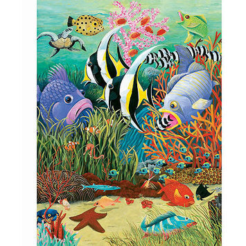 Taylor Gifts Fish In The Sea 300 Pc Puzzle For Children
