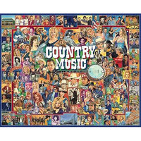 White Mountain Puzzles Country Music (1000 pc)
