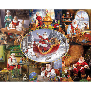 Taylor Gifts Merry Christmas to All 1000 Piece Puzzle