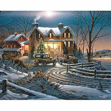 White Mountain Puzzles Sharing the Bounty 1000 Piece Jigsaw Puzzle