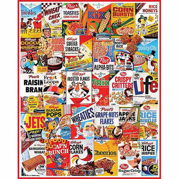 Gift Item Cereal Boxes Jigsaw Puzzle