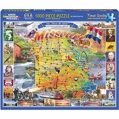 White Mountain Puzzles White Mountain Missouri 1000 Piece Jigsaw Puzzle