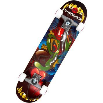 Punisher Skateboards Ranger 31-Inch Complete Skateboard