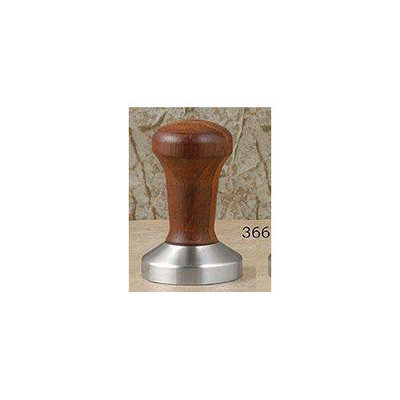 La Pavoni 57mm. Stainless Steel & Wood Handle Tamper