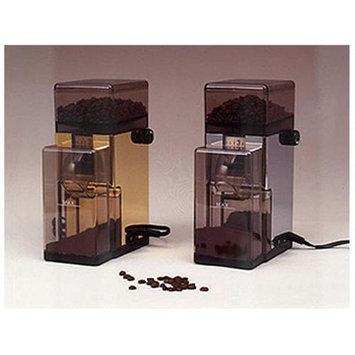 European Gift PGB Tre Spade Conical Burr Coffee Grinder - Brass