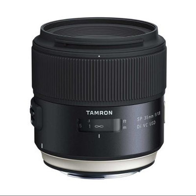 Tamron SP 35mm f/1.8 Di VC USD Lens for Canon EOS Mount (AFF012C-700)