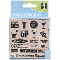 Inkadinkado Mounted Stamp Set 3