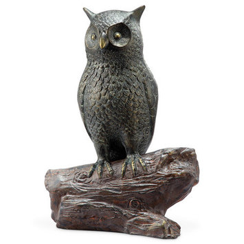 SPI Home 33870 Hooting Owl with BT Speaker