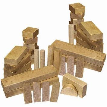 Holgate HZ551 48 Pieces Wooden Block Toy Set