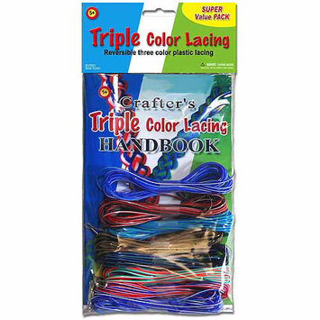 Pepperell NOTM054467 - Triple Color Lacing Super Value Pack