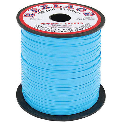 Pepperell Braiding RX100-08 Rexlace Plastic Lacing 3/32 Inch Wide 100 Yard Spool