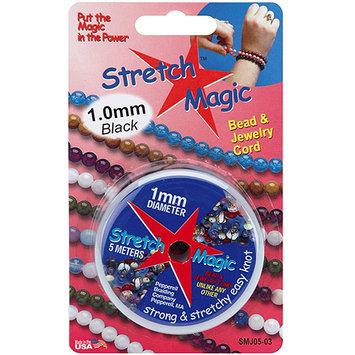 Pepperell SMJ-0514 Stretch Magic Bead and Jewelry Cord 1mm 5 Meters-Pkg-Glitter Light Purple