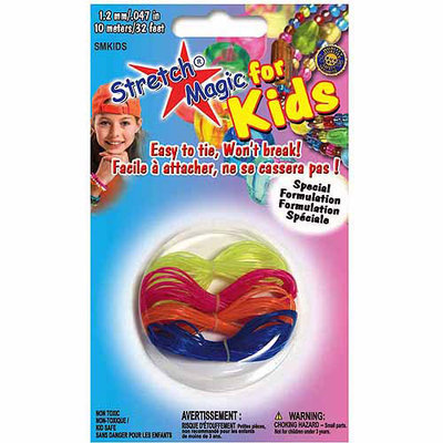 Pepperell Braiding SMKIDS Stretch Magic For Kids 1.2mm 10 Meters