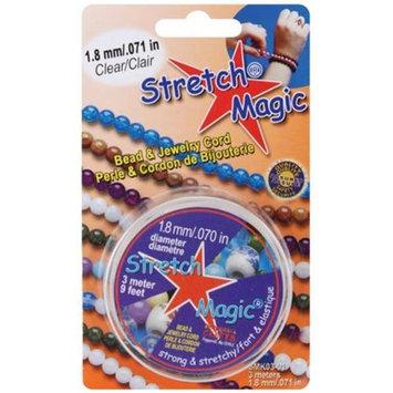 Pepperell Braiding SMK-3-01 Stretch Magic Bead & Jewelry Cord 1.8mm 3 Meters/Pkg