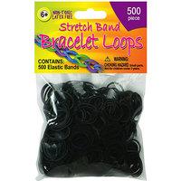 Pepperell STBL-03 Stretch Band Bracelet Loops 500-Pkg-Red