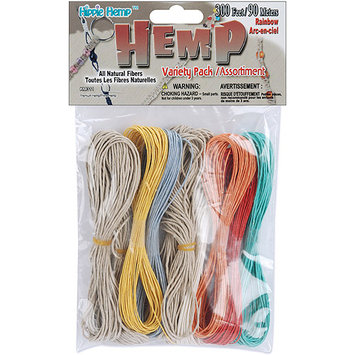 Pepperell Braiding KM-311 Hemp Variety Pack 300 Feet/Pkg