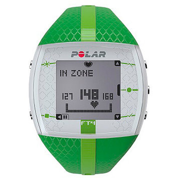 Polar FT4F Heart Rate Monitor, Green/Green, 1 ea