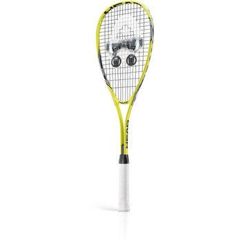 Head Nano Titanium Squash Racquet Set - Adult