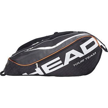 HEAD Tour Team Combi Bag Black/Gray/Orange: HEAD Tennis Bags