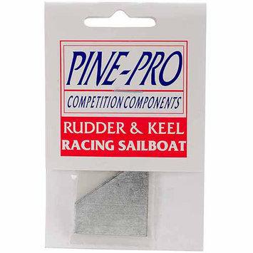 Pinepro Pine Car Derby Racing Sailboat Replacement Rudder & Keel
