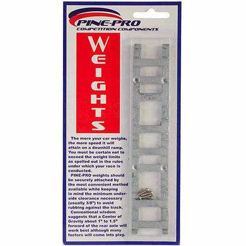 Pinepro Pine Car Derby Weight W/Screws 2oz 1/Pkg-Ladder