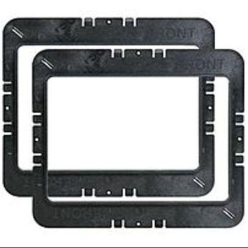 M-systems M-System MR6W Speaker Mounting Ring for WG Series 6-inch In-Wall - Black