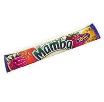 Mamba Fruit Chews - 2.65 oz. Roll - 24 ct.