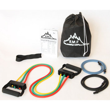 Black Mountain Products Five Resistance Bands Set